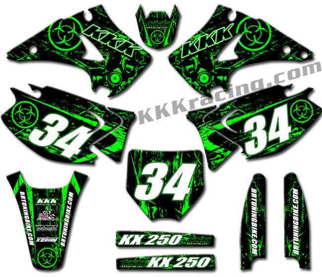 Grafiche Motocross Personalizzate 2